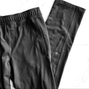 lululemon | Black Workout Pants with Pockets